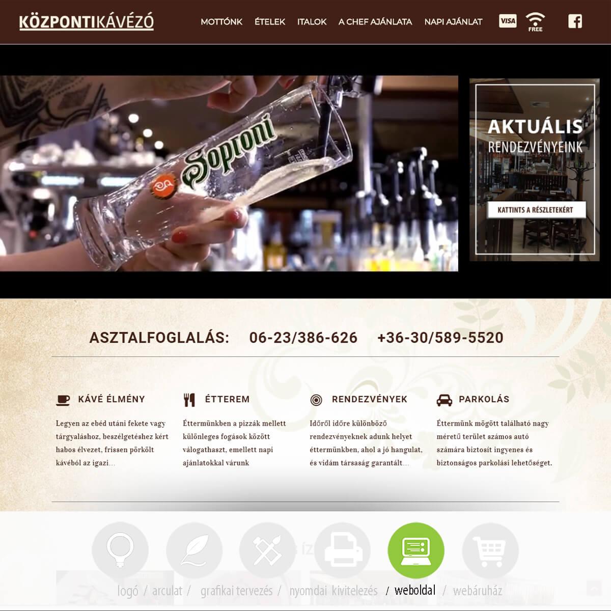 kozponti-kavezo-weboldal